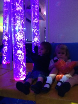 EYFS in the Sensory Bus