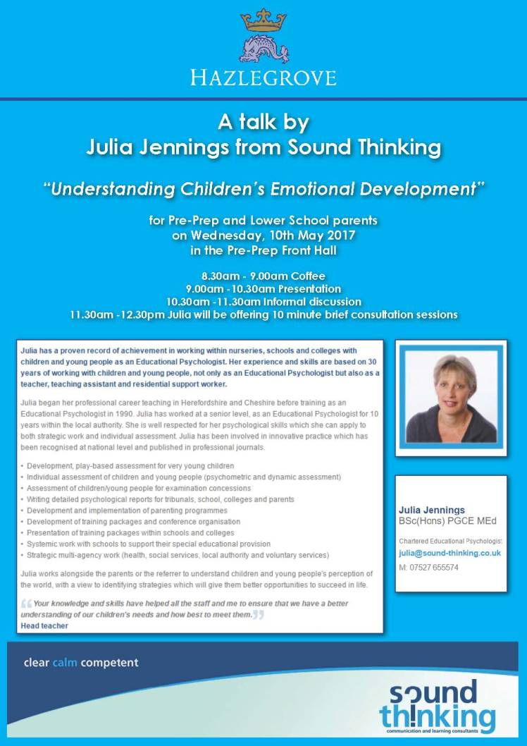 Sound Thinking Poster
