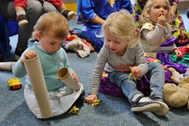 Squirrels and Nursery Storyteller
