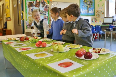 Hazlegrove Pre-Prep Apple Day fun 03