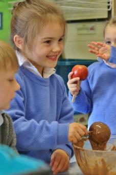 Hazlegrove Pre-Prep Apple Day fun 17