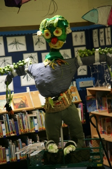 Pre-Prep guy Mr Vegetable Man