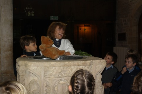 Year 2 visited St Barnabas Church