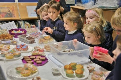Year 1 Cake Sale for Guide Dogs for the Blind