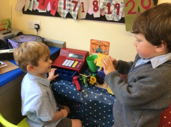 Reception learning about money