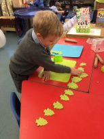 Reception - Christmas crafts