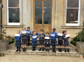 Reception - Christmas Letters