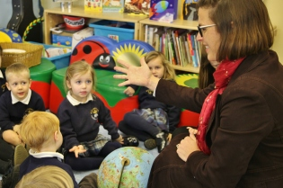 Nursery - French with Madame Webb