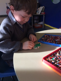 Reception Hama Beads