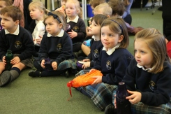 Nursery Miss Sayles music lesson
