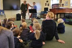 Nursery Miss Sayles music lesson