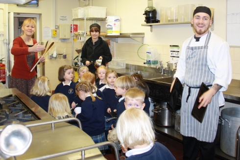 Nursery Music in the Kitchens