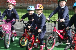Reception charity cycle