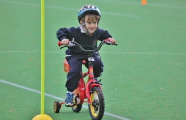 Pre-Prep charity cycle ride
