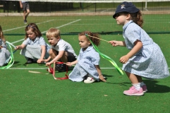 Nursery PE and Tennis lesson