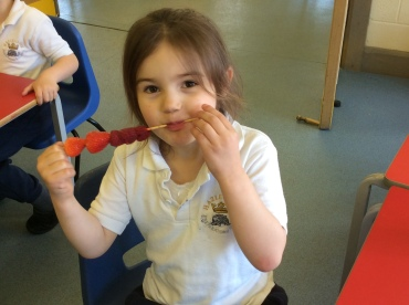 Reception Fruit Kebabs