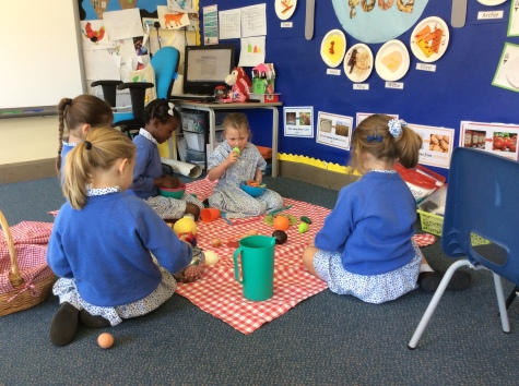 Reception Healthy Eating