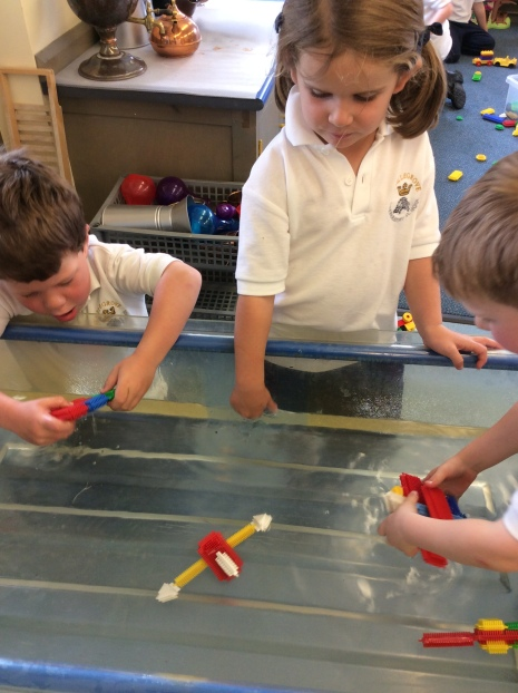 Reception Floating and Sinking