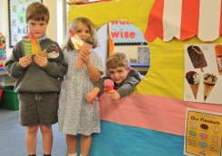Reception role play ice cream van