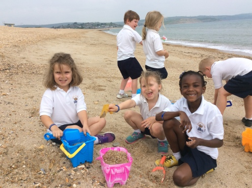 Reception trip to Weymouth