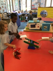Reception in the classroom