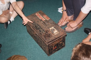 Mrs Hughes Naval Chest