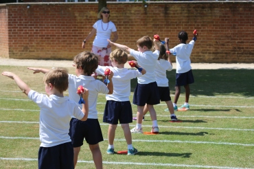 Reception Athletics Festival