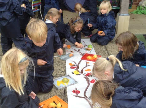 Another busy week for Reception