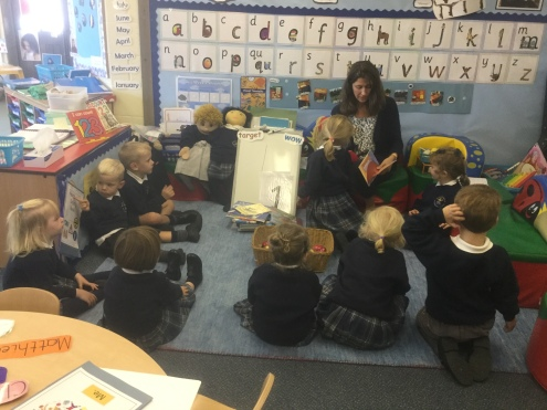 Nursery French lesson