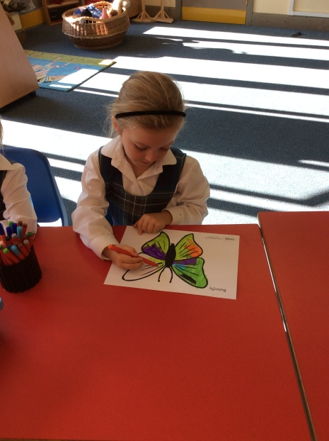 A busy first week for Reception
