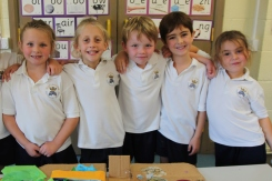 Year 2 made islands