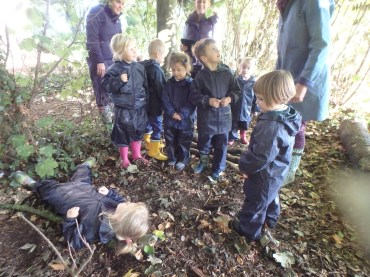 Nursery Goldilocks Walk