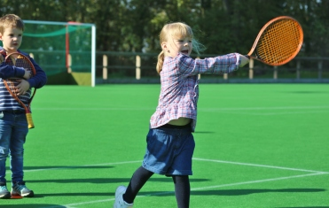 Nursery Tennis Lesson