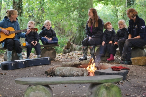 Nursery Camp Fire