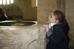 Year 2 trip to St Barnabas Church