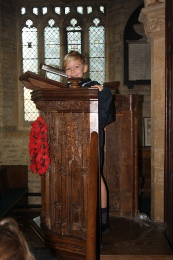 Year 2 trip to St Barnabas Church