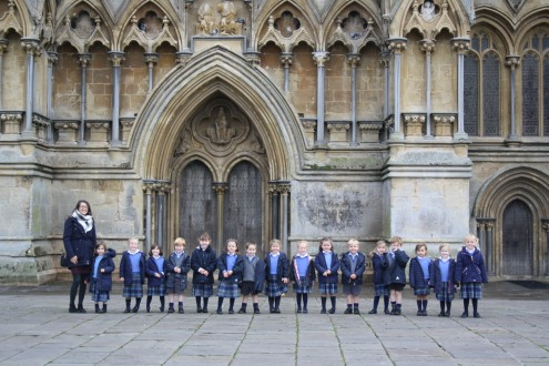 Reception trip to Wells Cathedral