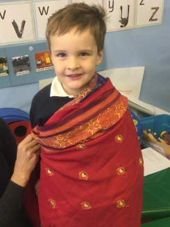 Nursery celebrated Diwali