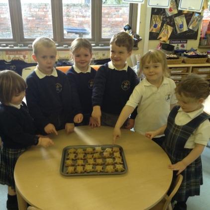 Tortoises visited Nursery