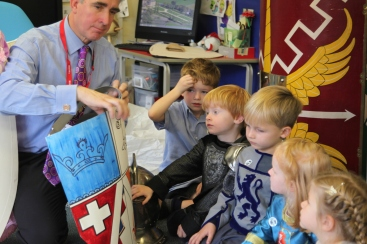 Reception Castles with Mr Stok