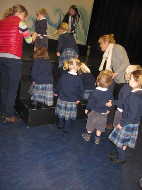 Nursery visit the Theatre