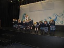 Nursery visit the Theatre