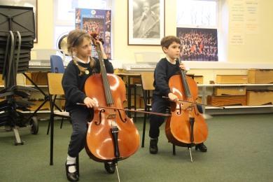 Year 2 Cello Lesson