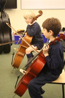 Year 2 Cello Lesson