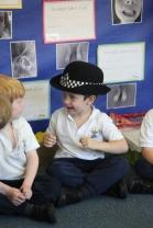 Reception meet a Police Officer